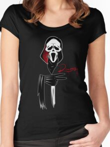 Deuces: Ghostface Edition Women's Fitted Scoop T-Shirt