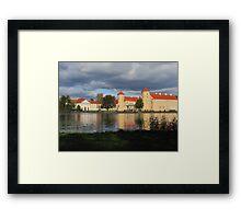 Castle Rheinsberg Framed Print