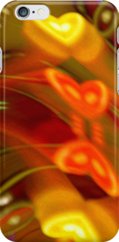 Have A Heart-I Phone Case by Diane Johnson-Mosley