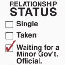WAITING FOR A MINOR GOV'T OFFICIAL by thischarmingfan