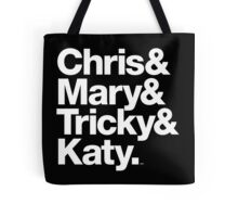 Christopher Tracy & Tricky & Mary Sharon Threads Tote Bag