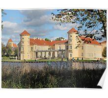 Castle Rheinsberg in Brandenburg Poster