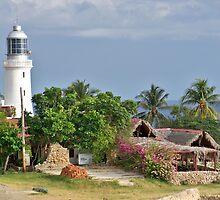 Cuban Lighthouse by Lynn Bolt