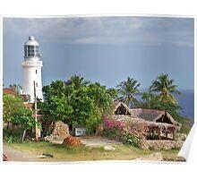 Cuban Lighthouse Poster