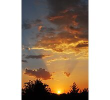 Oklahoma Sunset 2 Photographic Print