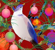 in christmas tree by LisaBeth
