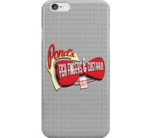Fish Fingers & Custard iPhone Case/Skin