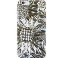 iphone case - silver sunflowers iPhone Case/Skin