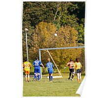 Soccer Ball Air Ball Poster