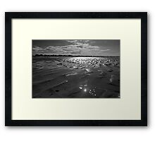 Sands of History - Gold Beach Normandy Framed Print