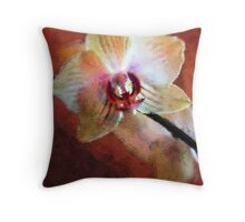 *Phalaenopsis* Throw Pillow