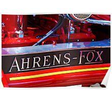 Ahrens-Fox Poster