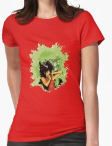 No Man's Land Womens Fitted T-Shirt