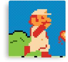 Fire Mario Canvas Print