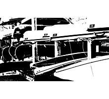 4457 - BW Photographic Print