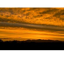 Colorado sunset Photographic Print