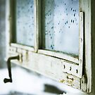 wintage wooden window closeup by wildrain