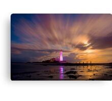 St Mary's Lighthouse Canvas Print