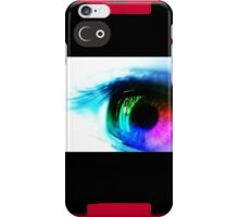 Multicoloured Eye iPhone Case/Skin