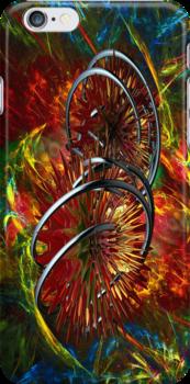 iron caterpillar by Heike Nagel