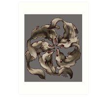Circle of Wolves Art Print