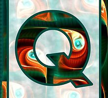 Fractal – Alphabet – Q is for Quizzical by Anastasiya Malakhova