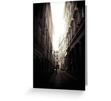 Lost in Rome Greeting Card