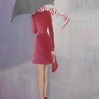 THE LADY IN RED by Dian Bernardo