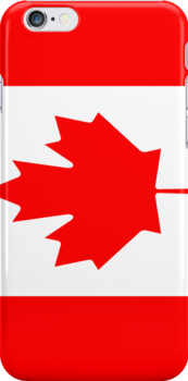 Large Canadian Maple Iphone case by Lee Eyre