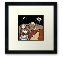 Maggies Moggies (Mither Tap) Framed Print
