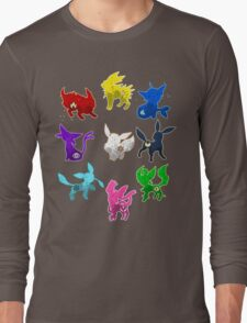 Eeveelution Long Sleeve T-Shirt