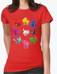 Eeveelution Womens Fitted T-Shirt