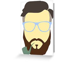 Hipster Your Style Greeting Card