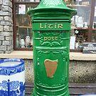 The Irish Post Box by Fara