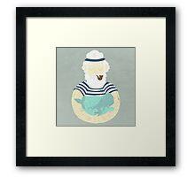 Let's Save The Seas Framed Print