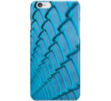 Blue Chainlink Fence iPhone Case/Skin