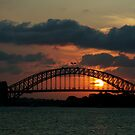 Harbor Sunset by pnjmcc