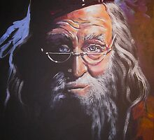 Portrait of Albus Dumbledore by Jean Alexander