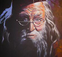 Portrait of Albus Dumbledore by Jean Alexander