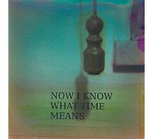 THE REVENGE OF TIME #1 Photographic Print
