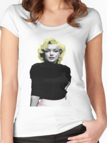 Marylin Warhol  Women's Fitted Scoop T-Shirt