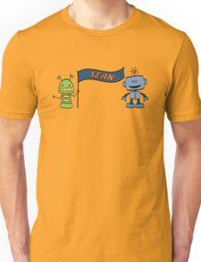 sean w robots Unisex T-Shirt