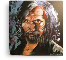 Portrait of Sirius Black Canvas Print