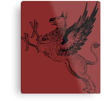 Let the Griffon Fly Metal Print