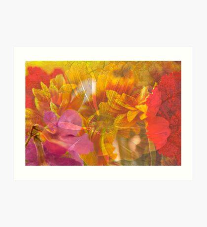 Flowers .. Art Print