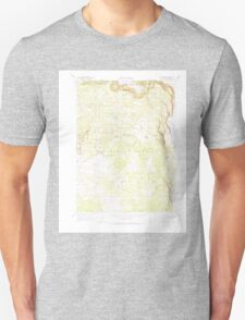 USGS Topo Map California South Mountain 301749 1962 62500 T-Shirt