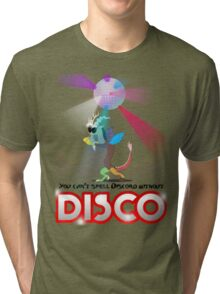 You can't spell Discord without DISCO Tri-blend T-Shirt