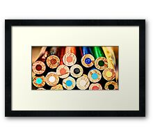 Ghetto Crayons Framed Print