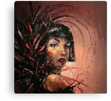 Burlesque Queen Canvas Print