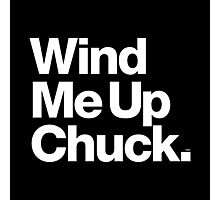 Chuck Brown DC Go-Go Wind Me Up Photographic Print